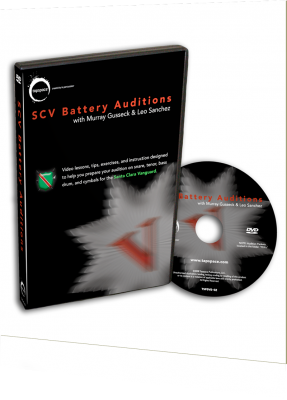 SCV Battery Auditions DVD (2009–2010)
