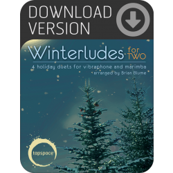 Winterludes for Two (Download)