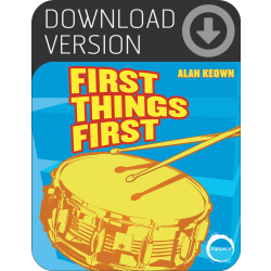 First Things First (Download)