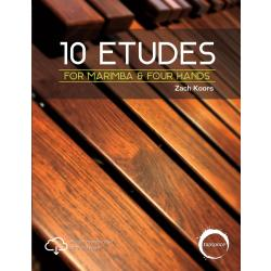 10 Etudes for Marimba & Four Hands